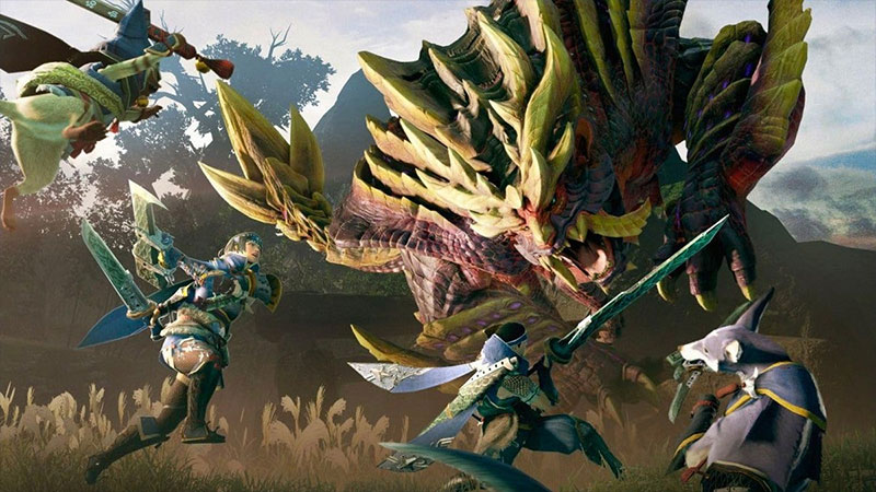A caçada começou! Tudo sobre Monster Hunter Rise - Banner