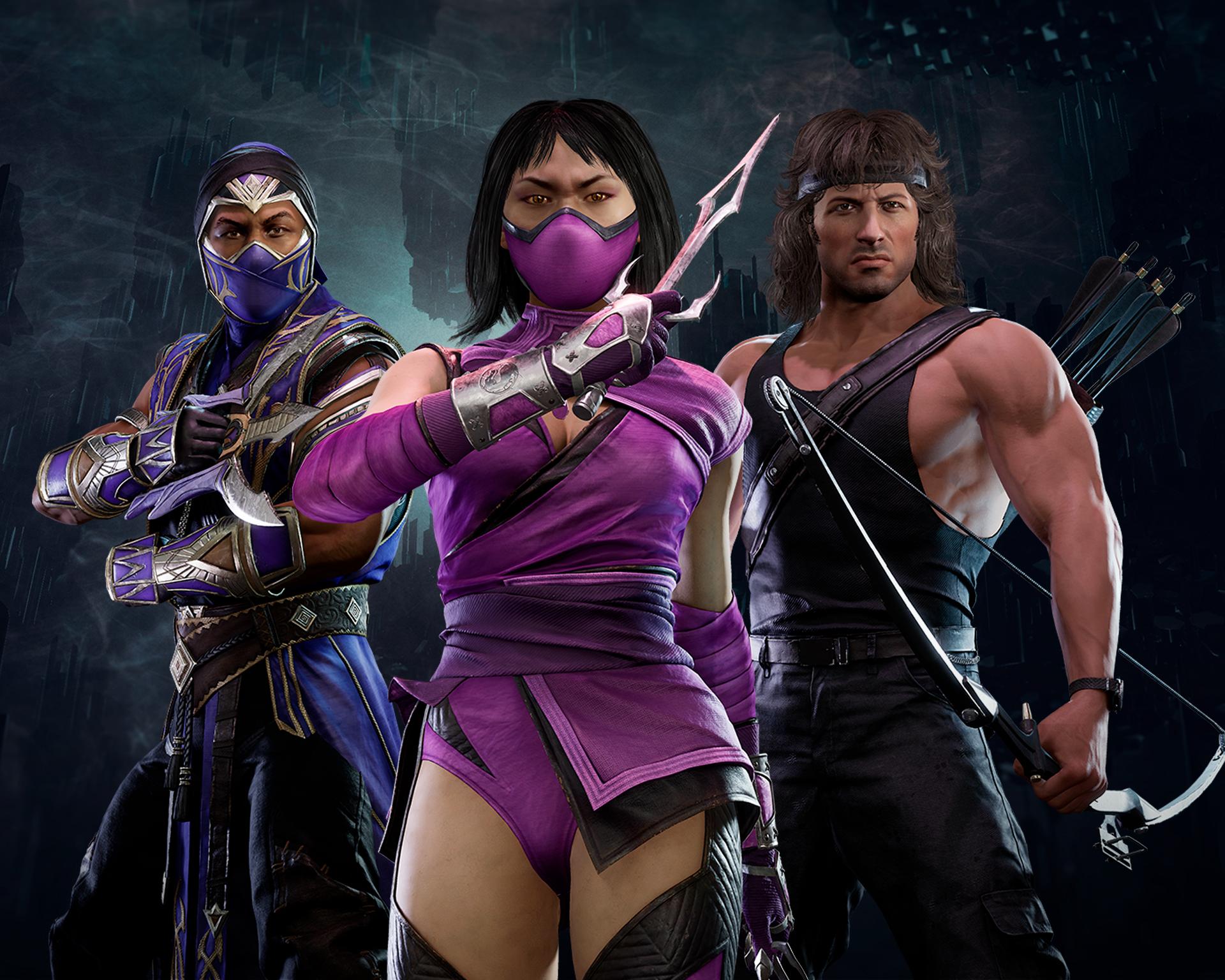 RAMBO WINS! Ele chegou ao Mortal Kombat 11 Ultimate - Banner